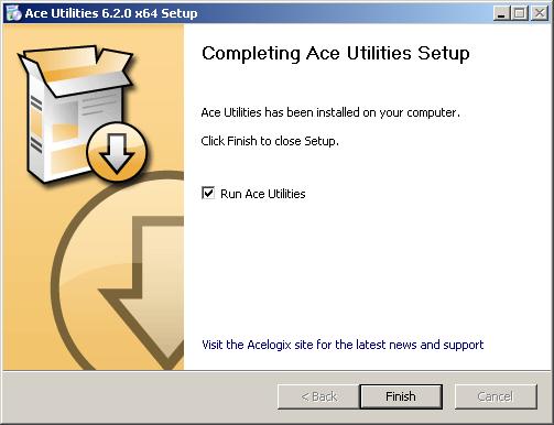 تحميل وتبيث برنامج Ace Utilities لتسريع الكمبيوتر وحل مشكلة البطئ
