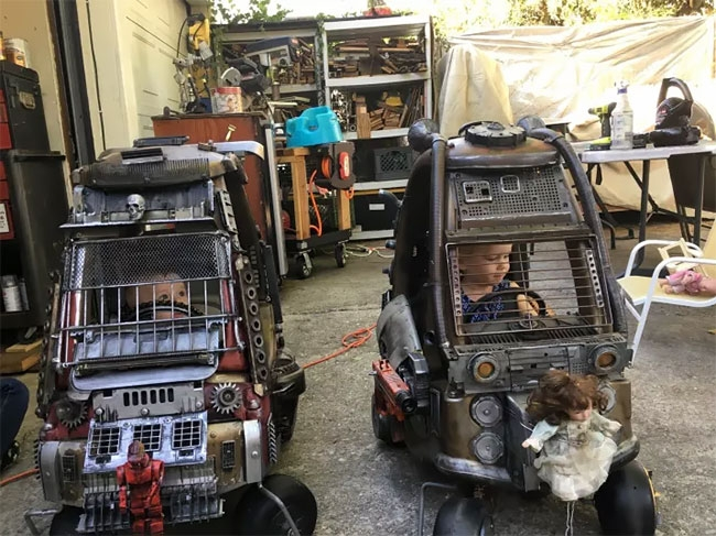 09-Ian-Pfaff-Little-Tikes-Cozy-Coupe-Infused-with-Mad-Max-www-designstack-co