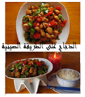 chicken with red and green pepper Chinese style 2