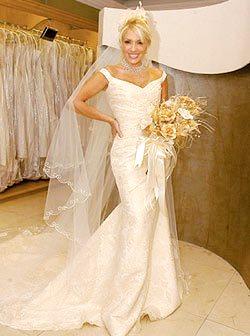 Foto de Yuri cn vestido de novia