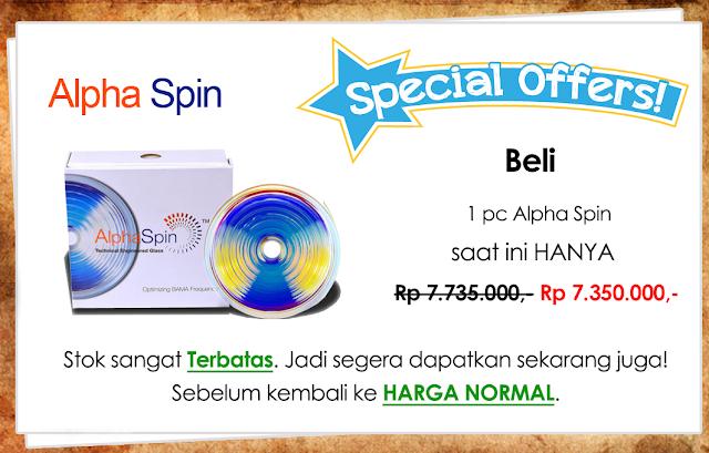 Promo Alpha Spin