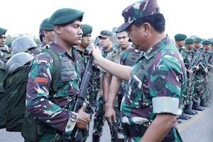 Panglima TNI : PPRC TNI Dituntut Tingkatkan Kemahiran dan Kemampuan Tempur Dalam Berbagai Misi