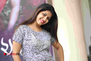 Actress Geethanjali Pictures at Ninne Choosthu Unna Song Launch  0015