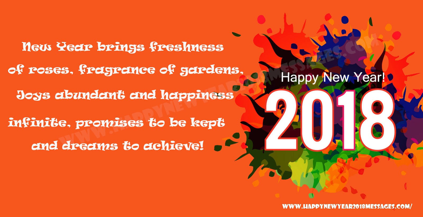 Happy new year 2018 best new year whatsapp facebook messages sms happy new year 2018 best new year whatsapp facebook messages sms to send happy new year greetings m4hsunfo