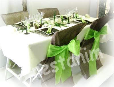Decorations et theme choissisez votre table mariage for Idee diner amis