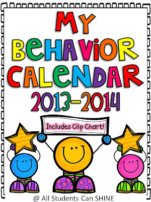 Behavior Management - Calendars And A Clip Chart - All Students Can