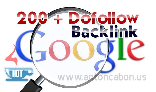 Free 200 Lebih  Dofollow Backlink PR 1 - PR 9