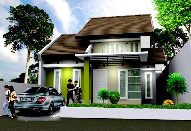 Gambar 2 Rumah Minimalis type 45