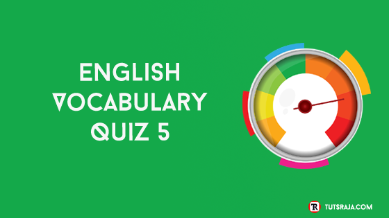 English Vocabulary Quiz