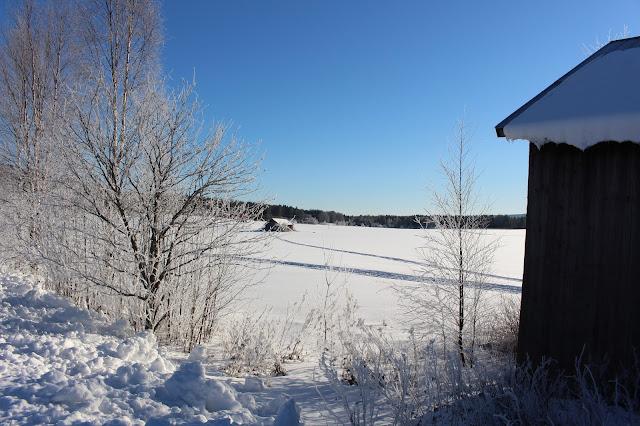 #vinter #sol #vår #hälsingland