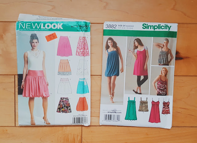 New Look and Simplicity 3882