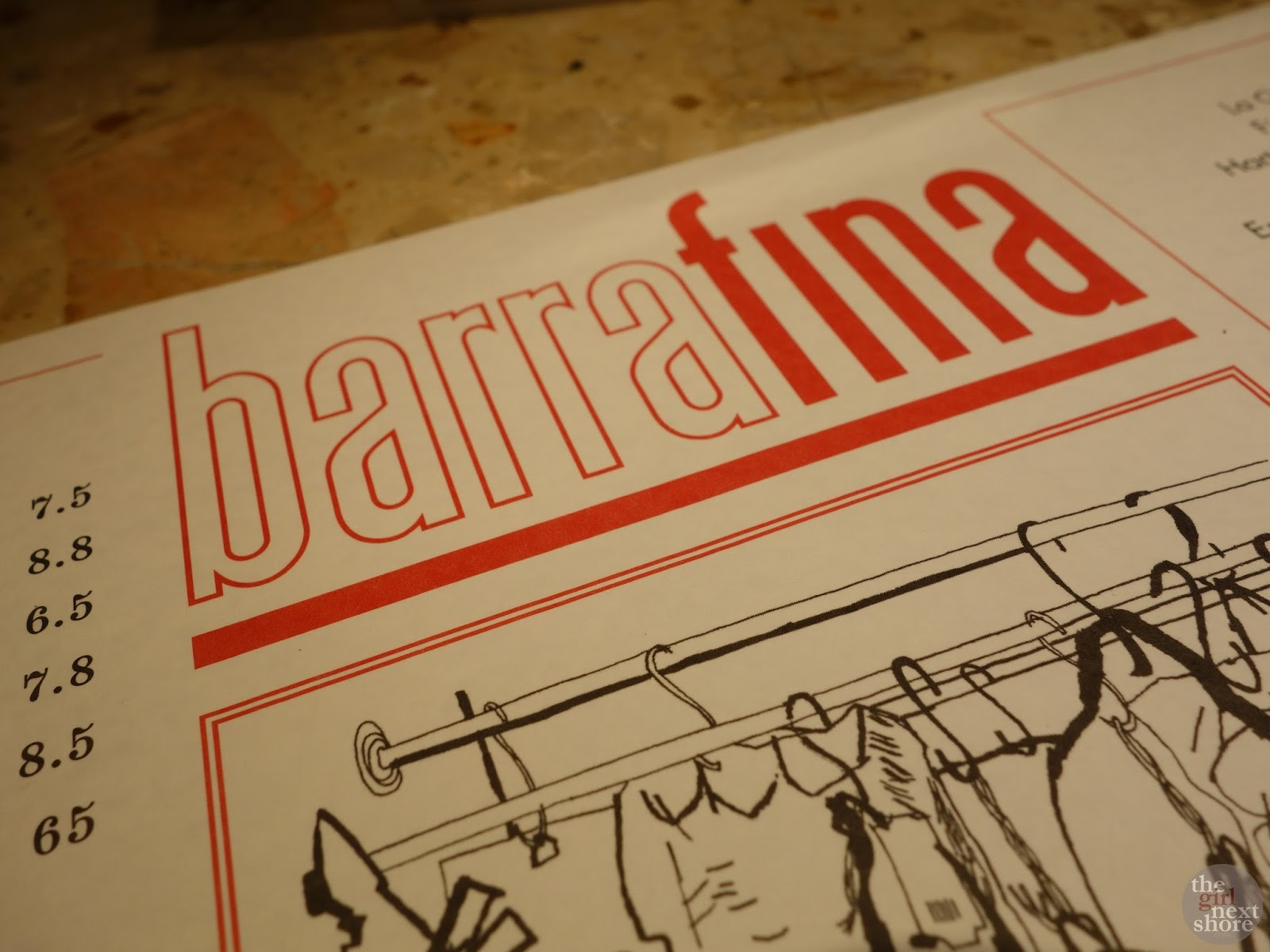 Barrafina (Adelaide St): where the sister (restaurant) struts off her stuff