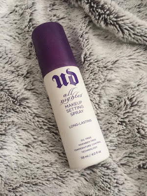 Urban Decay's all nighter spray