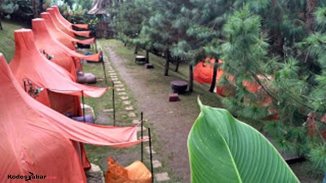 Camping ground The Lodge Maribaya
