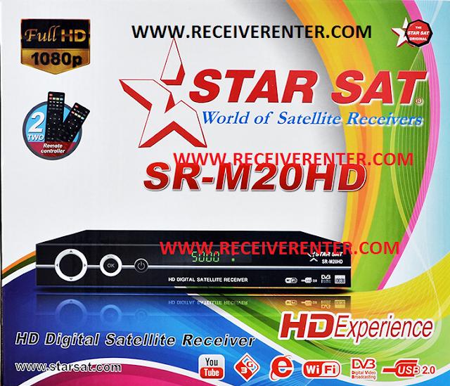 STAR SAT SR-M20HD RECEIVER FLASH FILE