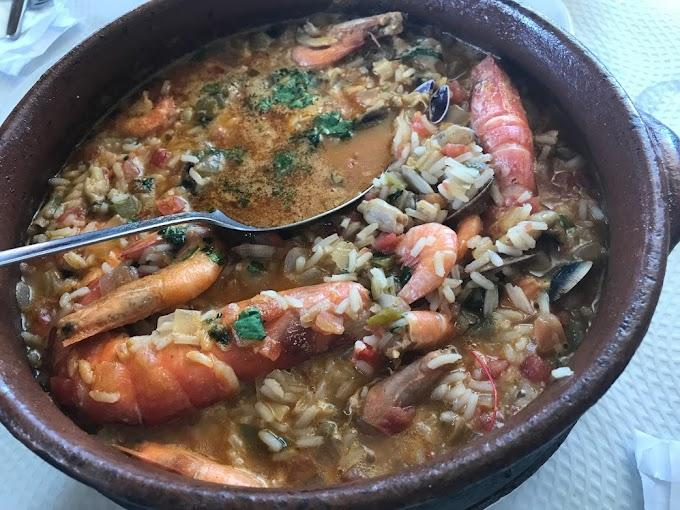 Marisquería Fialho, arroz de rechupete