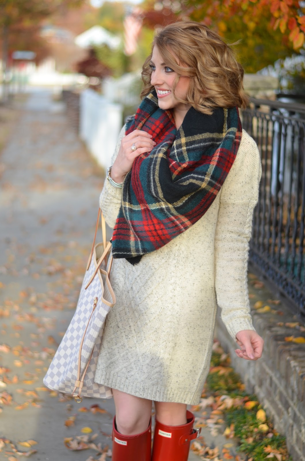 How to wear a blanket scarf - Something Delightful Blog