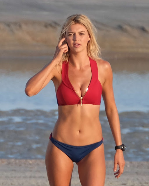 Kelly Rohrbach – Filming Scenes for 'Baywatch'