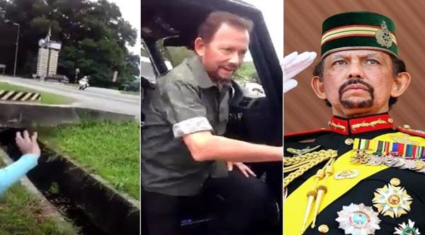 [Video] Lihat Apa Yang Dilakukan Sultan Brunei Selepas Melihat Kanak-Kanak Ini Melambai Sehingga Dipuji Netizen!