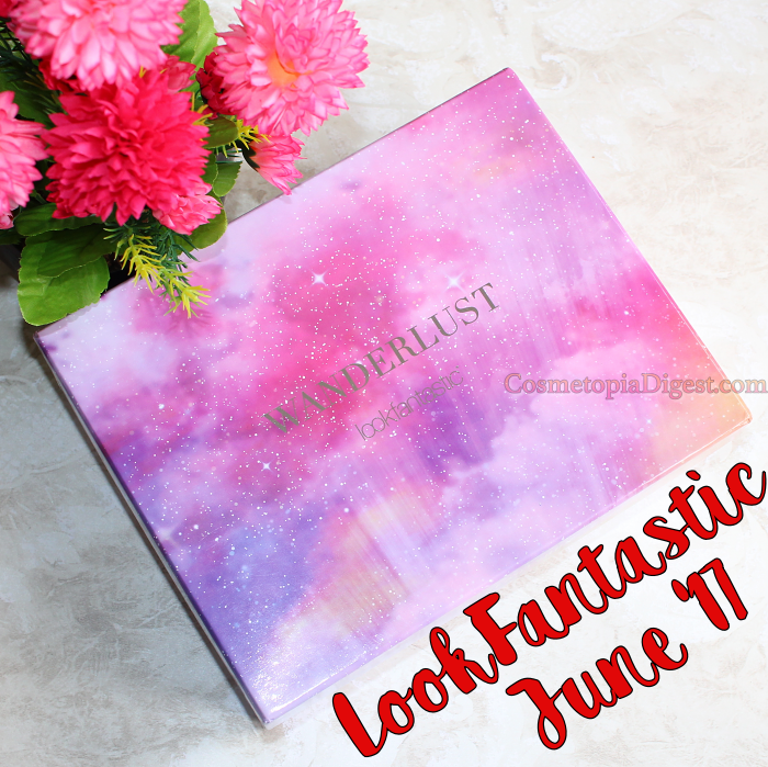 Here are the contents of the LookFantastic Beauty Box for June 2017.