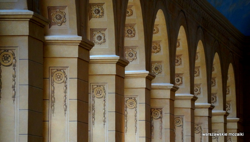 Warszawskie Mozaiki Pomarańczarnia łazienki Królewskie