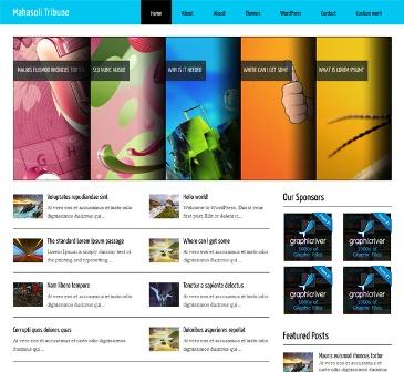 Mahasoli Tribune Free WordPress Theme