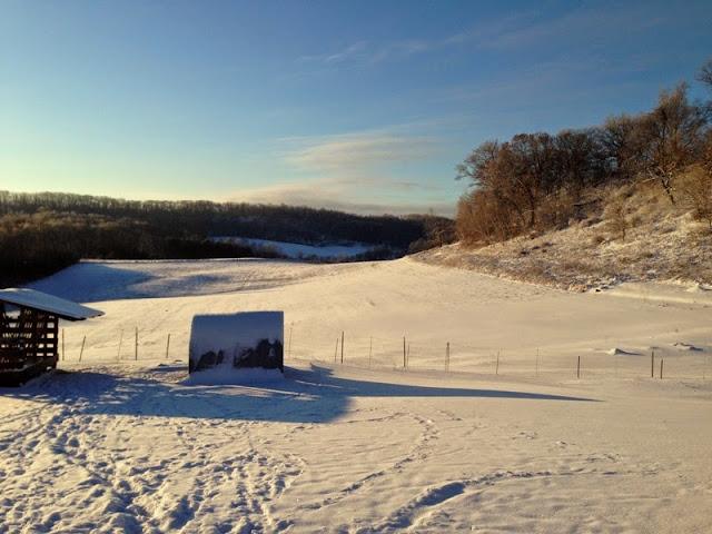 winter arrives at Litengård