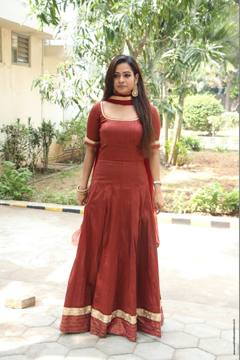 Leesha Eclairs at Eedili movie pooja