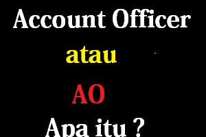 Apa itu Account Officer (AO) ? Apa Tugas dan Tanggung jawab seorang Account Officer ? Apa Syarat Untuk Menjadi Seorang Account Officer ?