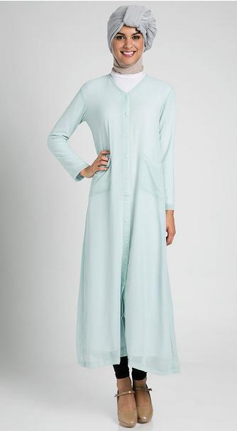 Gambar Gaun Muslim Wanita Untuk Pesta