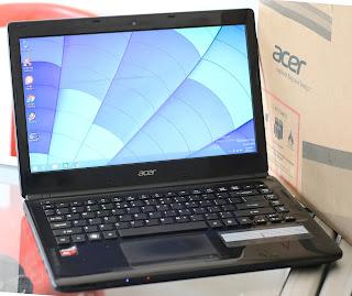 Laptop Bekas Acer Aspire E1-422 AMD A6