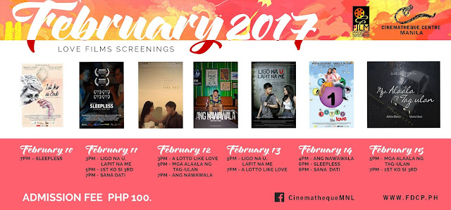 Cinematheque Centre Manila - Love Film Screenings