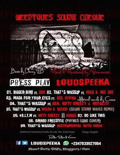 Music: LoudSpeeka - Maga 4 Ur Eyez Feat. Kel Cypha