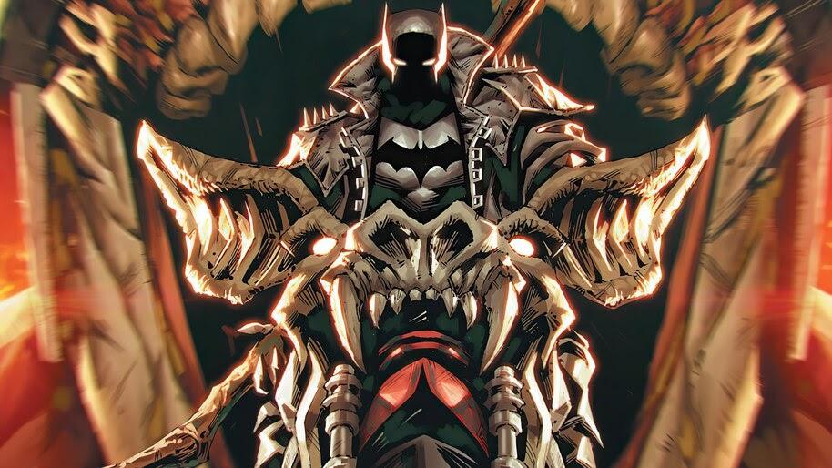 Batman, Death, Metal, Armor, Motorcycle, 4K, #6.2046