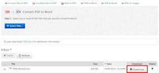 Cara Mengubah PDF to Word Online Kualitas Premium