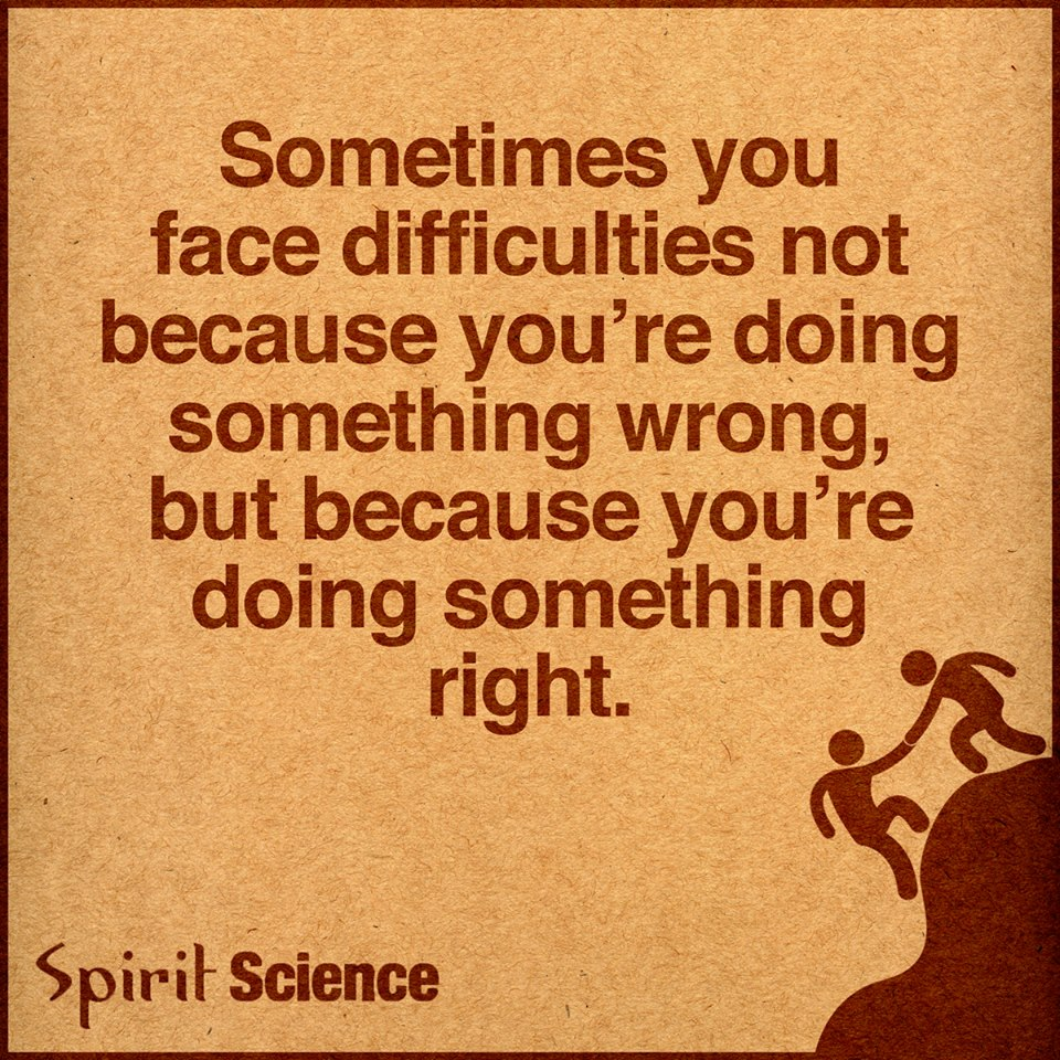 Love Each Other When Two Souls: Sometimes You Face Difficulties Not Because You Are Doing