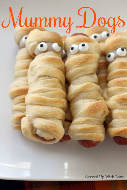 Mummy Dogs recipe from Served Up With Love