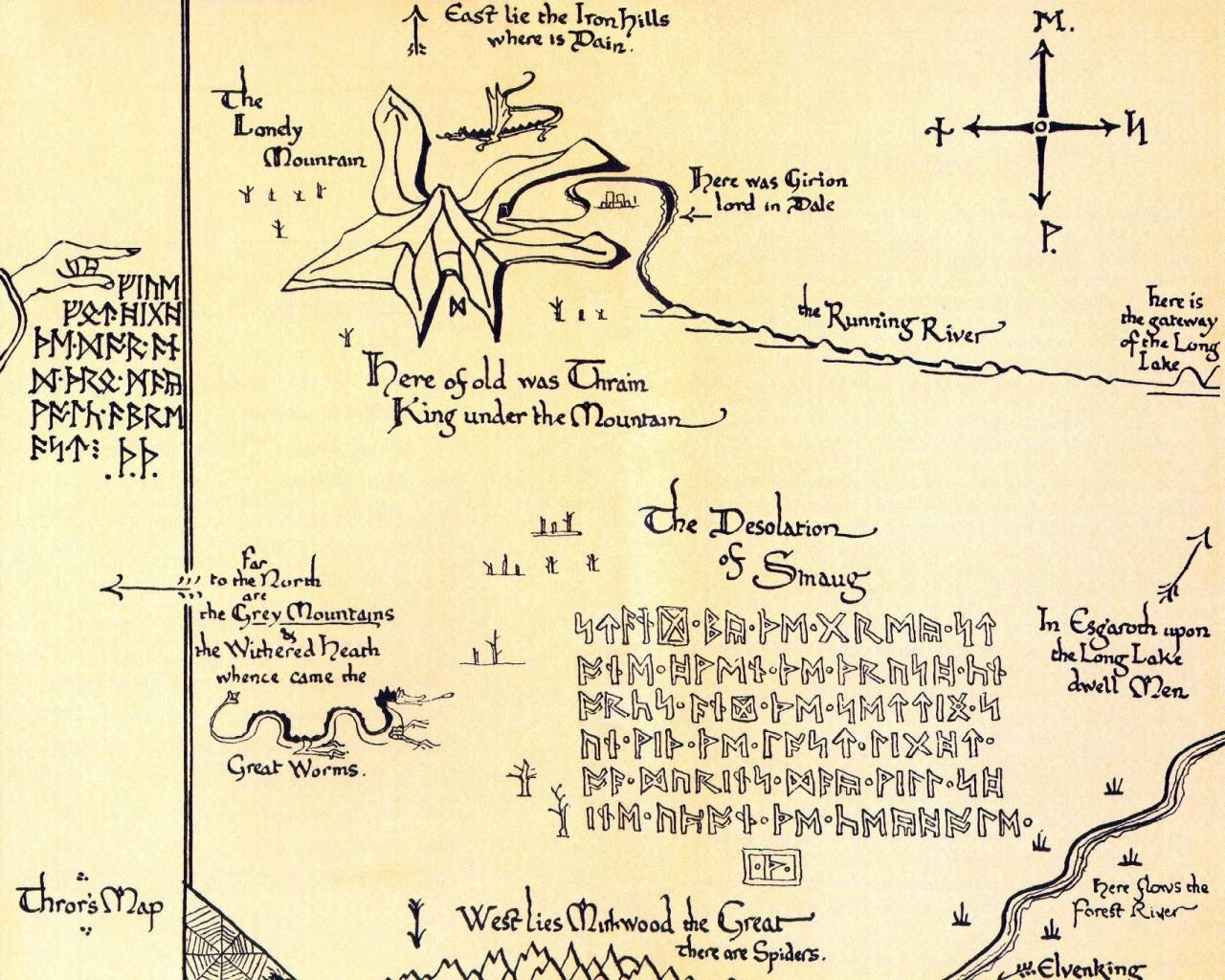 Dwarvish Alphabet Hobbit The Norse Mythology Bl...