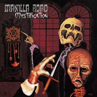 "Manilla Road - ""Death By The Hammer"" (audio) from the album ""Mystification"""