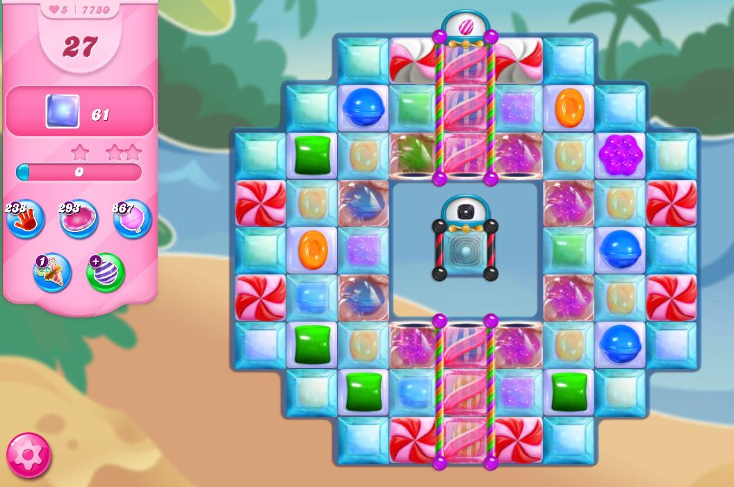 Candy Crush Saga level 7780