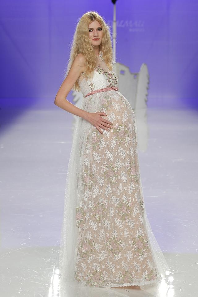 jordi dalmau coleccion 2018 - erfia - novia embaradaza -blog mi boda