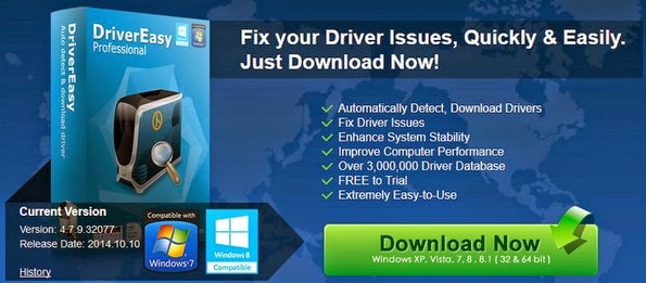 driver easy software for windows 7
