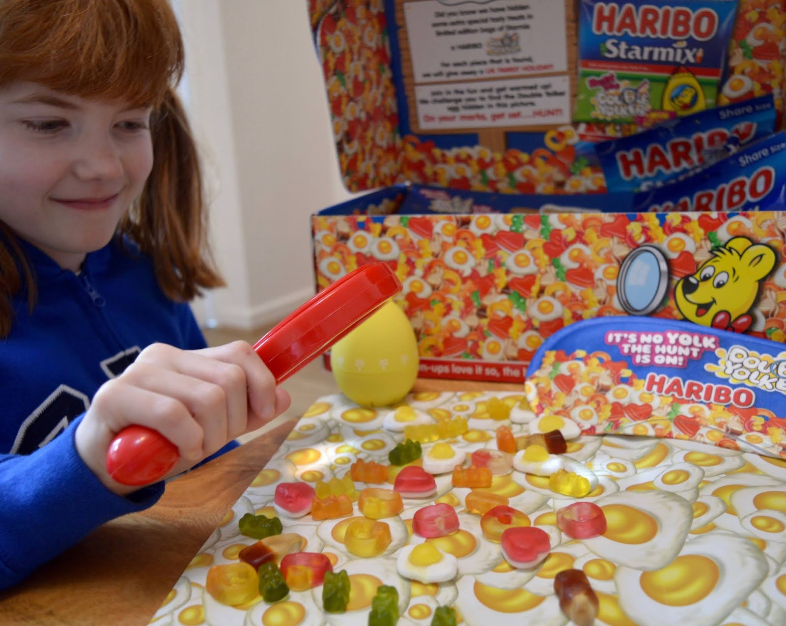 'Hunt the Double Yolker' with HARIBO for your chance to WIN 1 in 20 Forest Holidays - searching for the double yolker