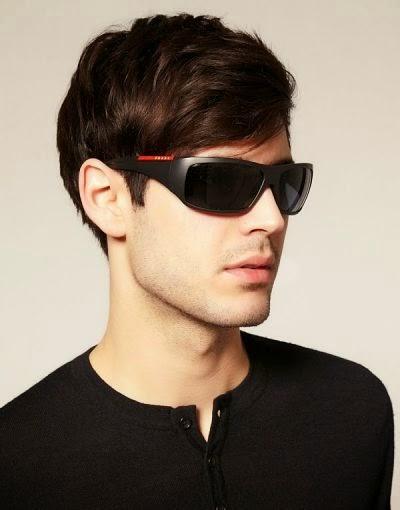 Model Kacamata Pria Jenis Wrap Around