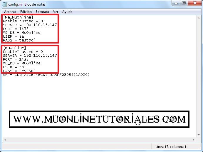 Configurando la conexion remota en el mueditor