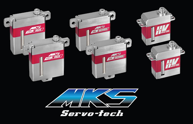 The second prize of our raffle is a set of 6 x MKS servos !