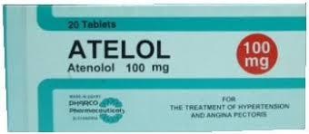 سعر ودواعى إستعمال دواء أتيلول Atelol أقراص لعلاج الذبحة الصدرية
