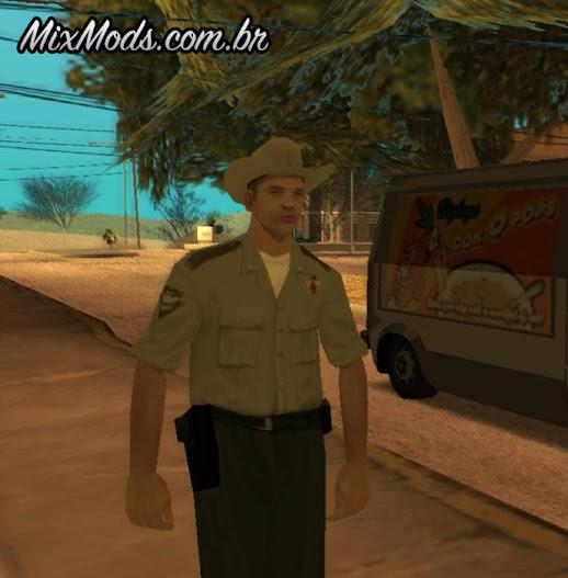 new cop skins gta mod