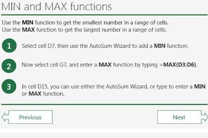 Cara Cepat Dan Praktis Belajar Komputer | Fungsi MIN Dan MAX pada Microsoft Excel