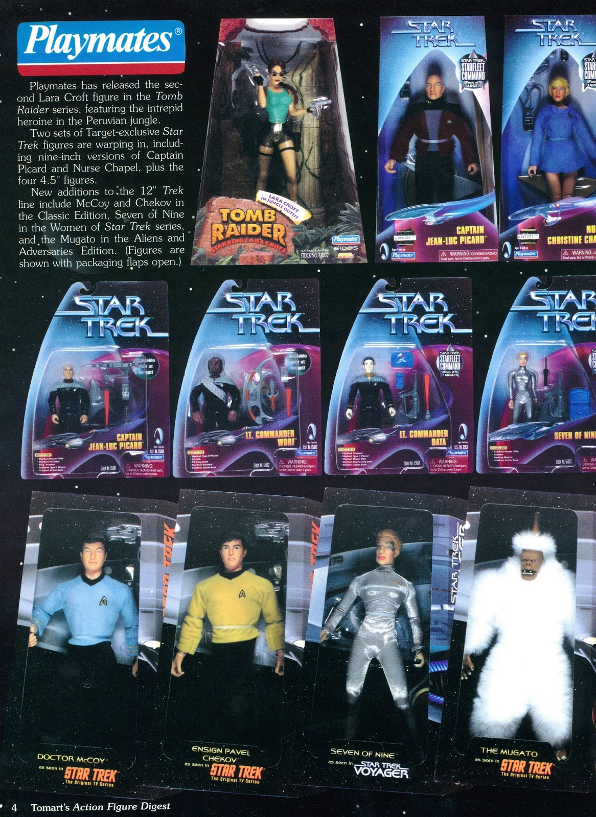 Star Trek Playmates Warp Factor Target Exclusive